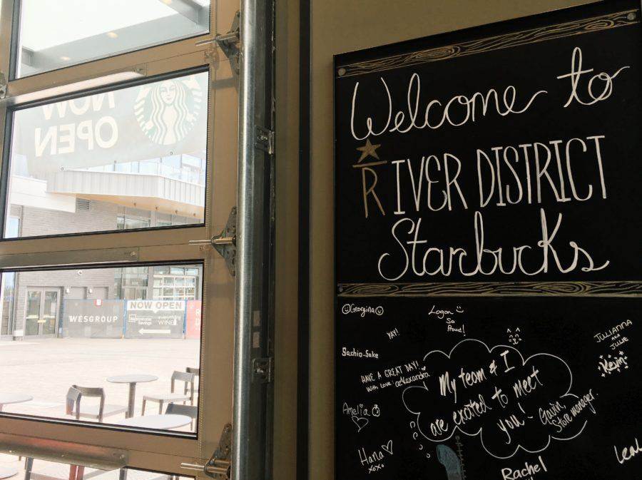Welcome to Starbucks River District!